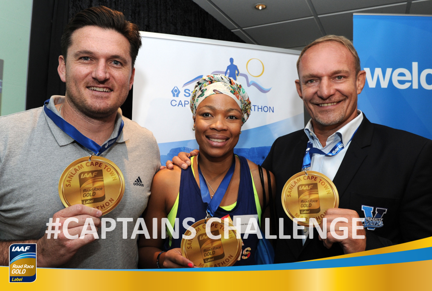 CHALLENGE YOUR CAPTAINS
